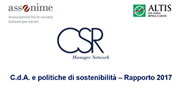 sostenibilita sempre piu strategica per le societa quotate italiane